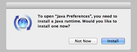 Java Runtime For Mountain Lion